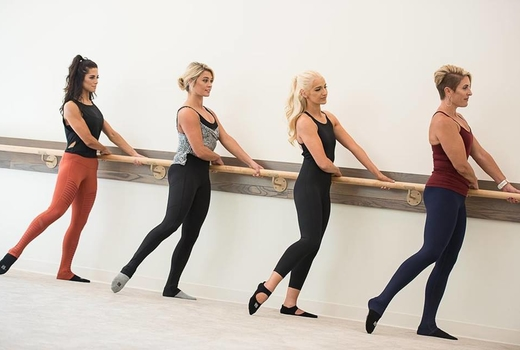 Barre method standing seat