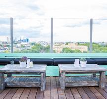 Mccarren rooftop day view