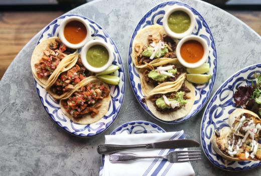 Toro loco tacos sides