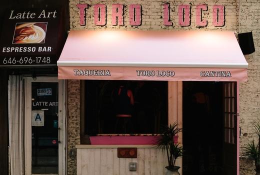 Toro loco face on