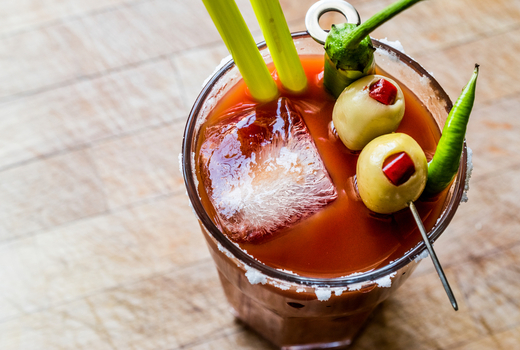 Piatto bloody mary