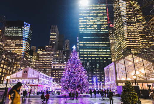 Bryant Park Christmas.40 Ice Skating Experience For 2 At The Park S Winter Village A 62 Value