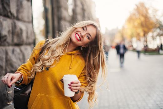 Ferrazz hair model smile