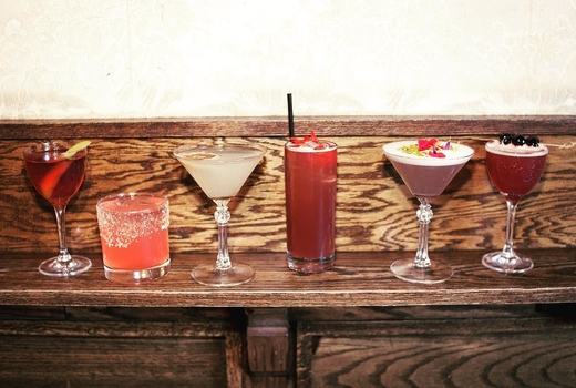 The late late cocktail medley