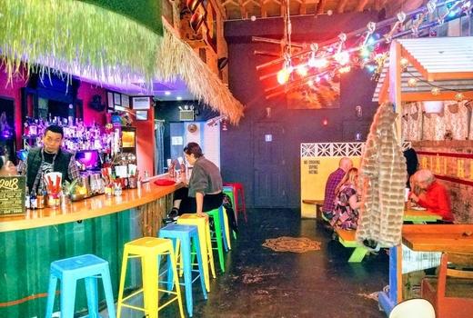 Bunker fun bar