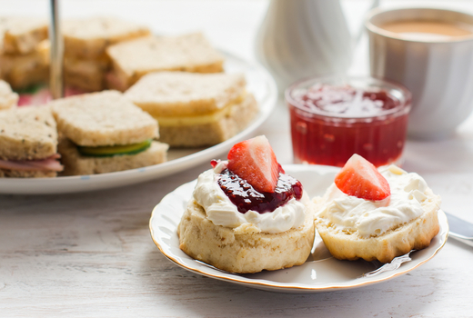 Bosie tea parlor sandwiches