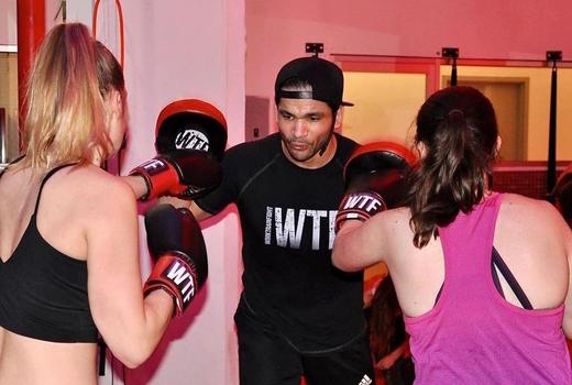 Work train fight 2 ladies trainer