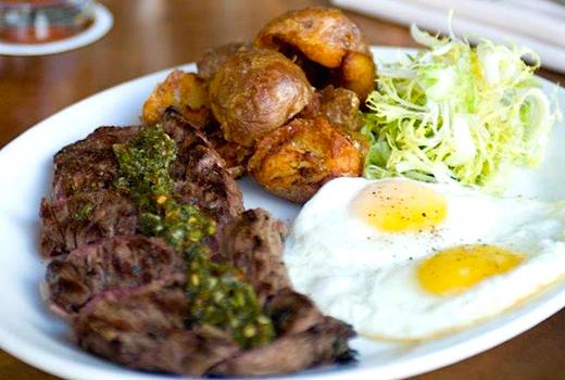 Bazar nomad steak eggs
