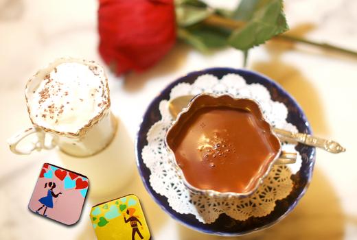 Mariebelle hot chocolate love cream