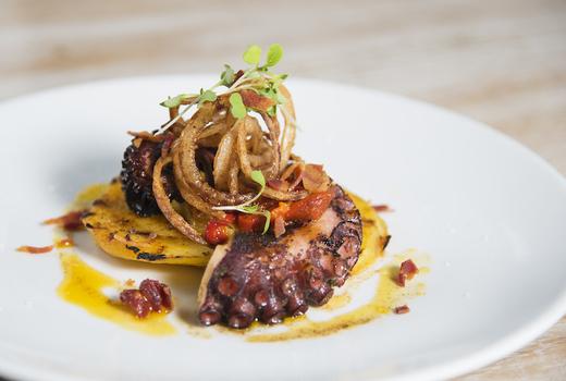 Bazar nomad nye grilled octopus