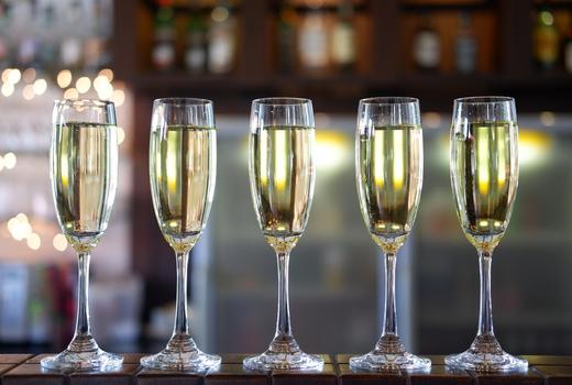 Bazar nomad nye champagne bar