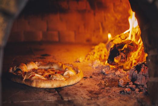 Dia restaurant dinner hot fire oven