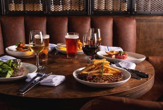 Vintage 61 inside table feast