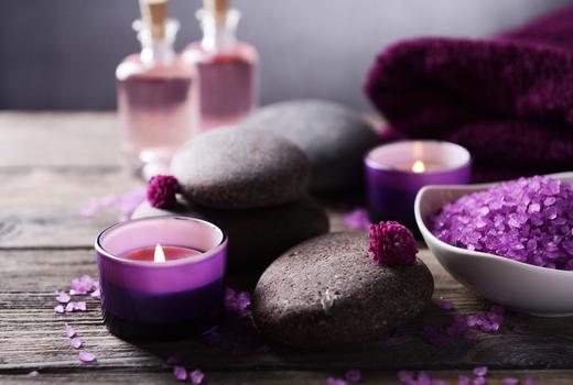 Galaxy spa massage goodies