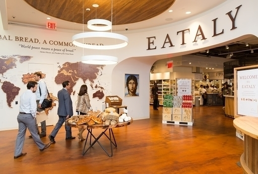 Eataly food wine festival entrance