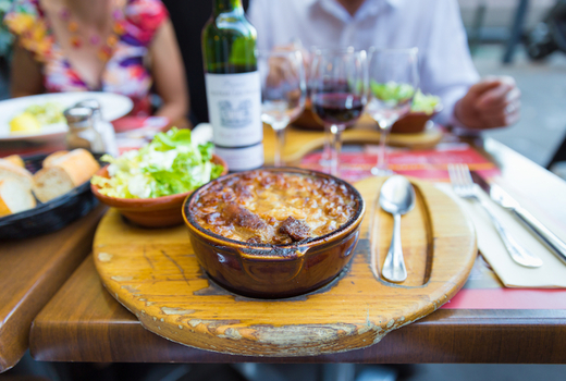 Cassoulet wine