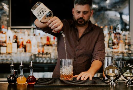 Vintage 61 bartender cocktails