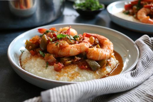 Sall restaurant shrimp grits