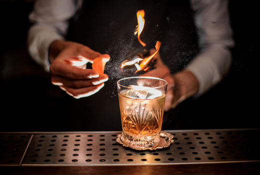 The winter tippler 2019 cocktail fire