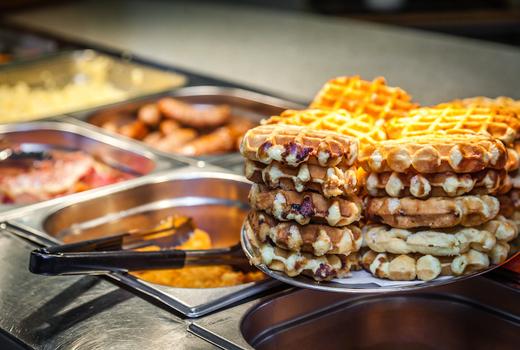 Hornblower waffle station