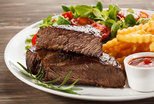 Soho park steak frites