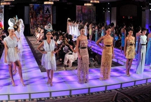 Couture fashion week models final