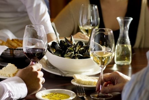 Ocabanon mussels wine
