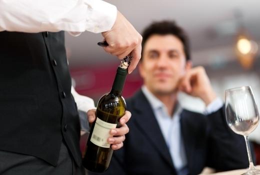 Ocabanon wine serve