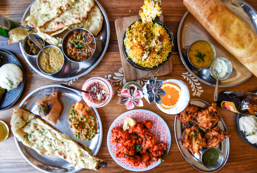 Surya restaurant feast