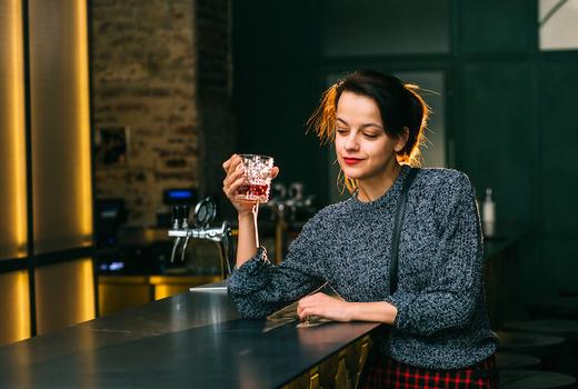 Nyc whiskey festival lady bar