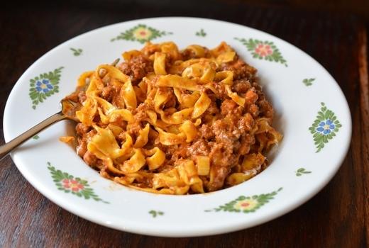 Osteria morini brunch pasta