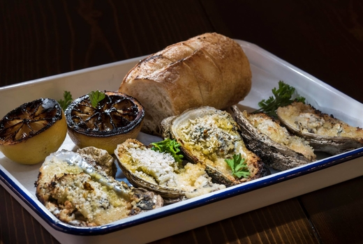 Clancey baked oysters