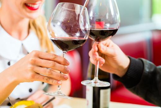 Vitae dinner wine cheers