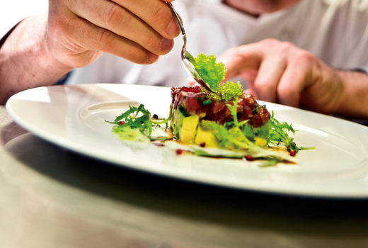 Vitae dinner chefs hands