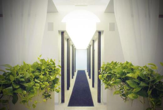 Eden medspa hallway bright