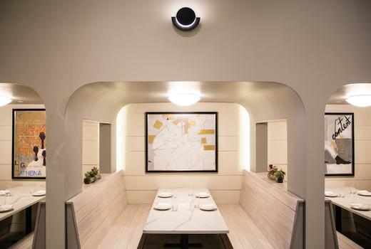 The bari inside ceiling