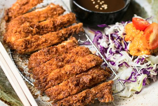 The bar fried chicken