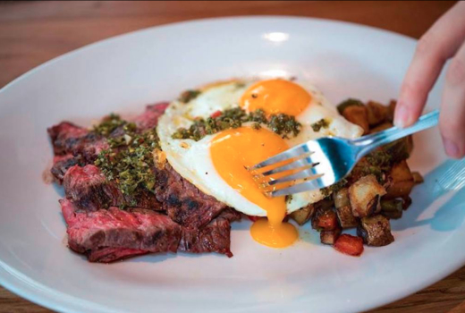 Ainsworth brunch steak eggs