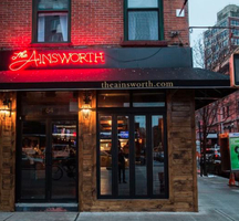 Ainsworth outside