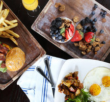 Ainsworth brunch dishes