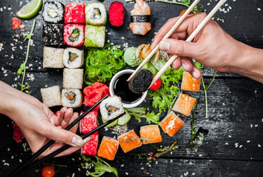 Okinii sushi chopsticks love nyc