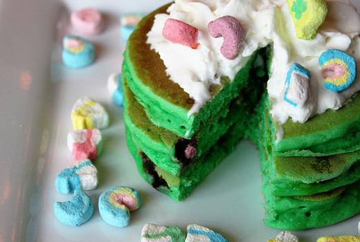 Green pancake sidebar