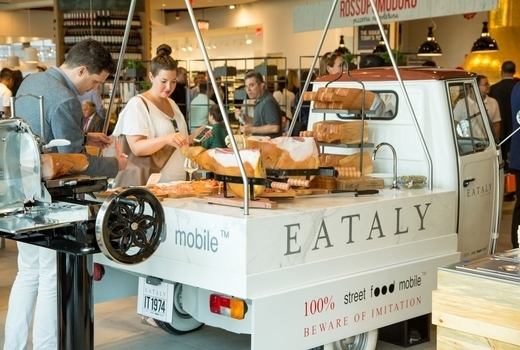 Eataly wine cheese fest truck