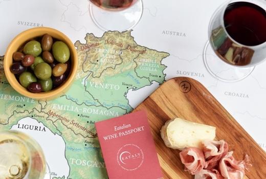 Eataly wine passport