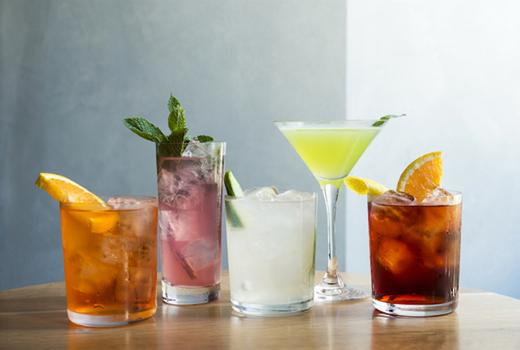 Obica flatiron evan cocktails