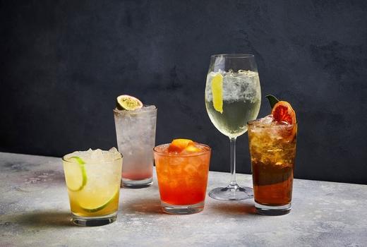 Obica dinner cocktails summer menu