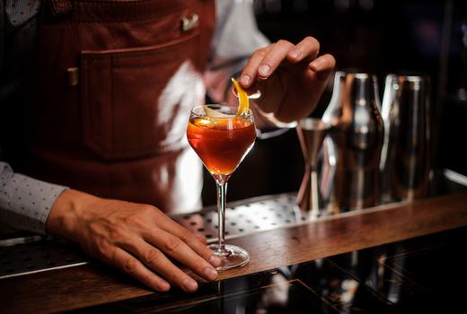 The village lantern bartender