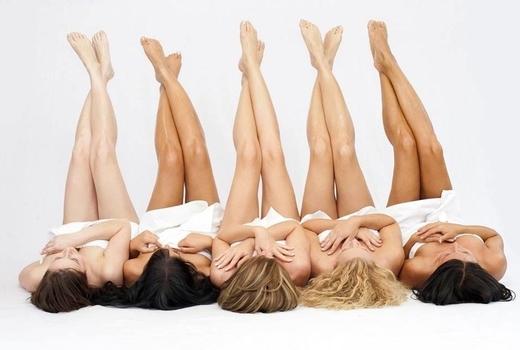 Step up skin laser women legs