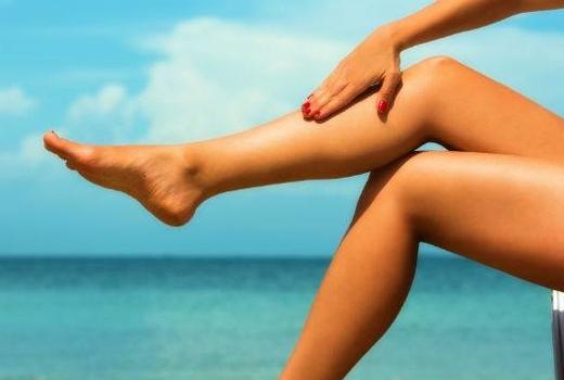 Step up skin laser legs water love