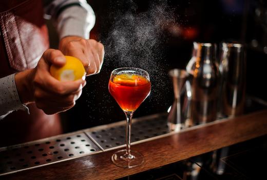 Duane park cocktails bartender